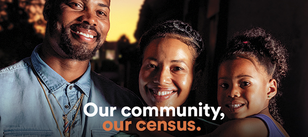 We Count LA Census Banner
